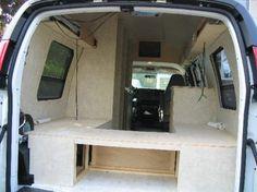 Ford Van Conversion Making Of The Bed Van Bed Design