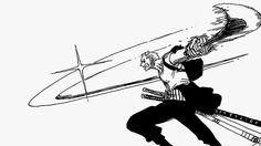 Roronoa Zoro Two Sword Style...