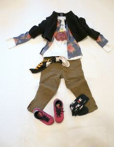 BENETTON AND ZARA KIDS IN LAYERS on www.fiammisday.com   outfit for kids