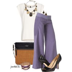 Kate Spade in Linen, created by jewhite76 on Polyvore