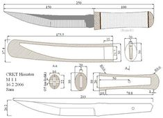 Bushcraft, Knife Drawing, Knife Template, Samurai Weapons, Knife Patterns, Plumbing Tools, Handmade Knives, Cold Steel, Custom Knives