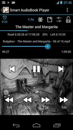 Smart AudioBook Player v1.9.6 Pro  Requirements: Android 2.2+  Overview: The program is designed specially for playing audio books.