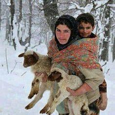 Northern Areas of Pakistan Life in Winters in Gilgit Baltistan - Pakistan