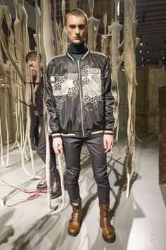 Male Fashion Trends: Antonio Marras Fall-Winter 2017 - Milan Fashion Week