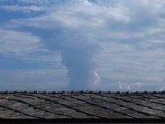 #oddio un tornado 😮😱😱..... ma no!!! È solo una nuvola 😂😂😋
