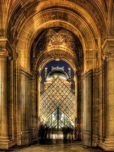 Musée du Louvre, Paris - France   by Kay Gaensler Places Ive Been, Places To Travel, Places To Visit, Beautiful Paris, I Love Paris, Paris Style, Paris Travel, France Travel, Le Palais