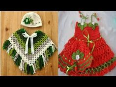 VESTIDOS / TEJIDOS A CROCHET Y EN GANCHILLO PARA BEBES Y NIÑAS - YouTube Crochet Baby, Knitting, Youtube, Holiday Decor, Fashion, Portion Plate, Short Tops, Caps Hats, Scarves