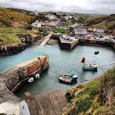 Fab pub here - The Sloop - at Porthgain in the Pembrokeshire Coast National Park, Wales, UK - a place my family frequents whenever we stay in Wales