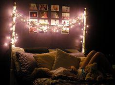 Bedroom #fairylights