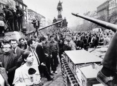 Soviet troops and most of their Warsaw Pact allies invaded Czechoslovakia on August to halt political liberalization in the country called the Prague Spring. World History, World War Ii, Prague Spring, Prague Old Town, Warsaw Pact, Political Beliefs, Prague Czech Republic, Old Town Square, Tank I