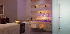Al Faisaliah Spa Treatment Room at 5 star hotel: Al Faisaliah Hotel. This hotel's address is: King Fahad Road Olaya Riyadh 11491 and have 330 rooms Spa Treatment Room, Spa Treatments, Luxury Spa, Jeddah, 5 Star Hotels, Middle East, Mirror, Riyadh, Rooms