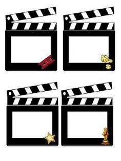 Hollywood/Movie Themed Class Job Cards These Hollywood and Movie themed cards are perfect for your classroom jobs. All of the jobs are on a clapboard. Also included are 4 blank cards that you can personalize for your classroom. Deco Cinema, Cinema Party, Cinema Ticket, Hollywood Theme Classroom, Classroom Themes, Movie Classroom, Classroom Attendance, Class Jobs, Movie Night Party
