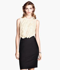 Ruffled Blouse. Product Detail | H&M US