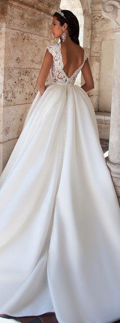 Wedding Dresses Inspiration : Milla Nova 2016 Bridal Collection – Belle The Magazine 2016 Wedding Dresses, Bridal Dresses, Wedding Gowns, Girls First Communion Dresses, Maroon Wedding, Special Dresses, Different Dresses, Bridal Collection, Marie