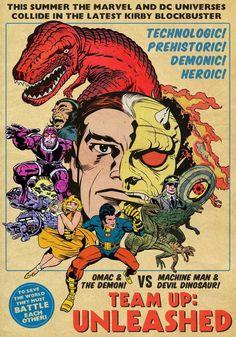 Jack kirby drawings of dc comics Comic Book Artists, Comic Artist, Comic Books Art, Comic Book Characters, Jack Kirby Art, Jack King, Bd Comics, Classic Comics, Thing 1