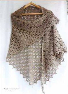 Tutorial free pattern crochet scarf.
