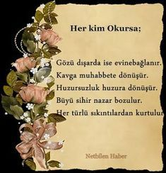 Prayer for Men Women, with their eyes out and leaving the house - Gözü Dışarıda Olup Evi Terk Eden Erkek Kadın için Dua Prayer for those outside the eyes -