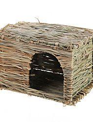 hamster pequeno pet rato conilurus Casa da grama kennel soneca cabine