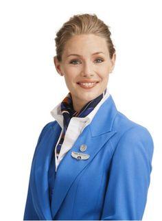KLM Stewardess