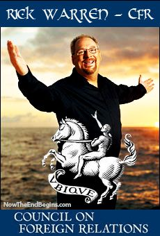 WHAT A SHAME, HE HAS GIVEN UP ON JESUS AND JOINING THE ONE WORLD ORDER = EXPOSED! Rick Warren Admits Membership In New World Order Group CFR