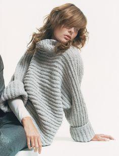 Noch ist es Zeit, sich ein paar schöne Winterpullover und warme Jacken zu stricken. Hier kommen 7 echte Einzelstücke zum Stricken.