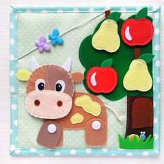 Quiet book toddler tablet about the farm and pets. Water Games For Kids, Indoor Activities For Kids, Book Activities, Outdoor Activities, Diy Quiet Books, Felt Quiet Books, The Farm, Quiet Book Templates, Quiet Books