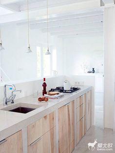 北歐風格木製廚房 | ㄇㄞˋ點子靈感創意誌