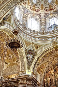 Basilica De Ntra Sra De Las Angustia, A Beautiful Church in Granada, Spain.