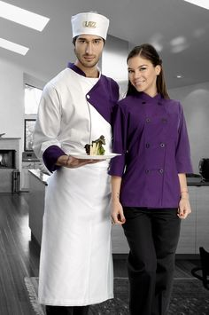 Chef Dress, Hotel Uniform, Restaurant Uniforms, Scrubs Uniform, Chef Apron, Uniform Design, Work Attire, Dress Backs, Powerful Women