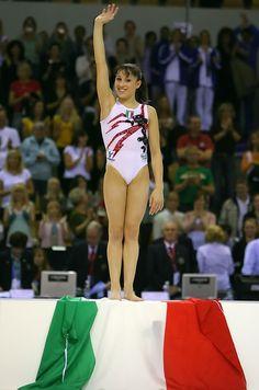 Vanessa Ferrari/Ahrus/Mondiali 2006 medaglia d'oro all around/ 15 anni/spettacolare
