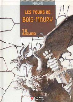 Les tours de Bois-Maury -6- Sigurd  -  1990