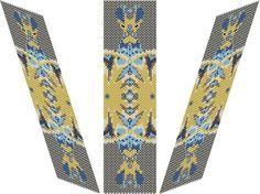 Vesica Piscis Bracelet  PDF pattern by EsotericBeads on Etsy, €4.00
