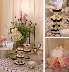 The Couture Cakery - Vintage garden bridal shower