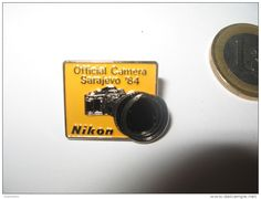 Olympic Games Winter Olympics SARAJEVO 1984 NIKON SPONSORSHIP OFFICIAL CAMERA…
