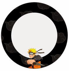 Naruto: Etiquetas para Candy Bar para Imprimir Gratis. Naruto Birthday, 10th Birthday, Naruto Party Ideas, Naruto Free, Table Labels, Anime Cake, Candy Bar Labels, Candy Table, Gift Hampers