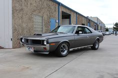 1970 AMC Javelin SST Mark Donohue Signature Edition Silver
