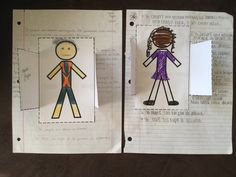 Spanish teacher blogs about a writing assignment that incorporates clothing, the preterite tense, and this cute visual.