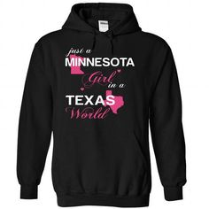 (MNJustHong001) Just A Minnesota Girl In A Texas World - #family shirt #zip up hoodie. LIMITED TIME => https://www.sunfrog.com/Valentines/-28MNJustHong001-29-Just-A-Minnesota-Girl-In-A-Texas-World-Black-Hoodie.html?68278