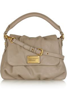 MARC BY MARC JACOBS  Lil Ukita textured-leather shoulder bag  Now this is a work/casual bag!  Oh MARC :)