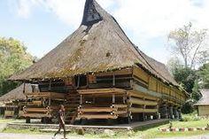 """Rumah Bolon Simalungun"" Simalungun King's Palace , Pematang Purba, North Sumatra (now a museum)"