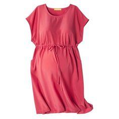 Liz Lange® for Target® Maternity Short-Sleeve Shirt Dress - Assorted Colors