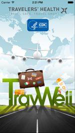 TravWell mobile app screenshot
