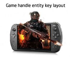 Tablet Gamer JXD S7800B Game Pad Quad Core A31s 1GB/2GB DDR3 IPS 8GB