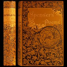 1887 EDMUND SPENSER POEMS ILLUSTRATED VICTORIAN FINE BINDING FAERIE QUEENE FAIRY