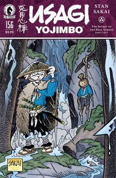 Preview: Usagi Yojimbo #156, Usagi Yojimbo #156  Story: Stan Sakai Art: Stan Sakai Cover: Stan Sakai Publisher: Dark Horse Publication Date: July 20th, 2016  Price: $3.99 ...,  #All-Comic #All-ComicPreviews #Comics #DarkHorse #previews #StanSakai #UsagiYojimbo