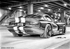 Dodge Viper GTS...by Krzysiek - jac...DeviantArt