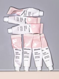 $12.00 | Best Body Balm Dotcom Glossier | A hydrating, long-lasting, do-everything skin salve that's packed with antioxidants and natural emollients to nourish and repair dry, irritated skin. The dense, waxy texture stays in place to seal in moisture wherever it goes. So good you'll want one for your bag, one for your other bag, and one for your medicine cabinet.