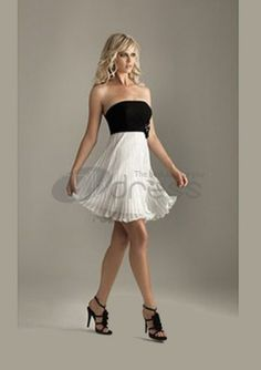 Cocktail Dresses For Weddings / Empire Strapless Short/Mini Chiffon Charmeuse Cocktail Dresses For Weddings / http://www.thdress.com/Empire-Strapless-Short-Mini-Chiffon-Charmeuse-Cocktail-Dresses-For-Weddings-p1003.html