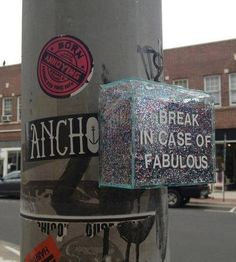 Fabulous - these should be on every corner!