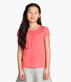 H&M Short-sleeved Blouse $12.95